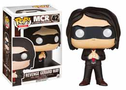 MY CHEMICAL ROMANCE FUNKO POP! ROCKS FIGURINE VENGEANCE GERARD WAY