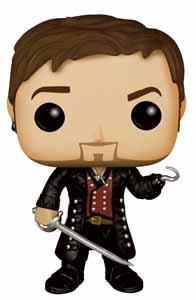 ONCE UPON A TIME FIGURINE POP! TELEVISION VINYL CAPTAIN HOOK