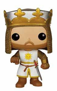 MONTY PYTHON SACRÉ GRAAL POP! MOVIES FIGURINE KING ARTHUR