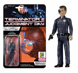 FUNKO REACTION TERMINATOR T-1000 HOLE-IN-THE-HEAD SDCC 2015 LIMITED