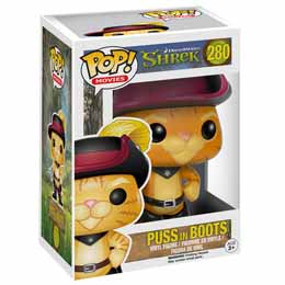 SHREK FIGURINE FUNKO POP! PUSS IN BOOTS CHAT POTTE