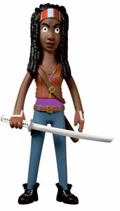 WALKING DEAD VINYL SUGAR FIGURINE VINYL IDOLZ MICHONNE