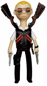 HOT FUZZ VINYL SUGAR FIGURINE VINYL IDOLZ NICHOLAS ANGEL