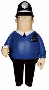 HOT FUZZ VINYL SUGAR FIGURINE VINYL IDOLZ DANNY BUTTERMAN
