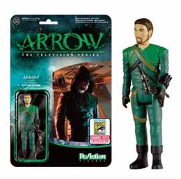 FUNKO REACTION ARROW UNMASKED SDCC 2015 LIMITED
