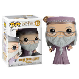 FUNKO POP HARRY POTTER DUMBLEDORE WITH WAND