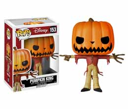 L´ÉTRANGE NOËL DE MR. JACK POP! VINYL FIGURINE JACK THE PUMPKIN KING