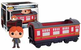 HARRY POTTER FUNKO POP HOGWARTS EXPRESS & RON WESLEY