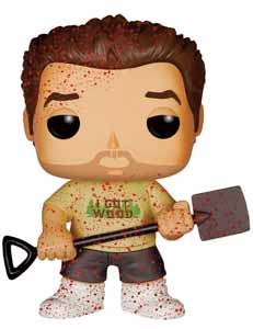 FIGURINE FUNKO POP! SHAUN OF THE DEAD ED BLOODY VARIANT