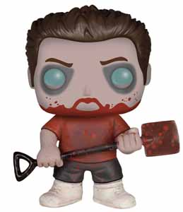 SHAUN OF THE DEAD POP! MOVIES VINYL FIGURINE ZOMBIE ED