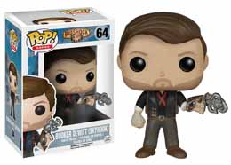 BIOSHOCK POP! GAMES VINYL FIGURINE BOOKER DEWITT & SKYHOOK