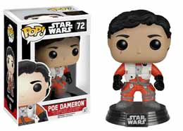 STAR WARS EPISODE VII POP! VINYL BOBBLE HEAD POE DAMERON (NO HELMET)