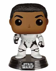 STAR WARS EPISODE VII POP! VINYL BOBBLE HEAD STORMTROOPER FINN WITH BLASTER