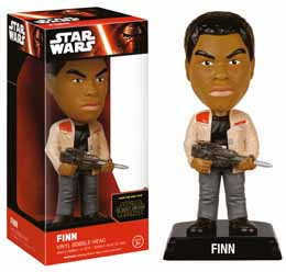 WACKY WOBBLER BOBBLE HEAD STAR WARS EPISODE VII FINN