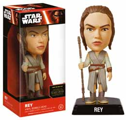 WACKY WOBBLER BOBBLE HEAD STAR WARS EPISODE VII REY