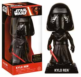 WACKY WOBBLER BOBBLE HEAD STAR WARS EPISODE VII KYLO REN