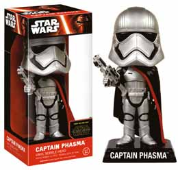 WACKY WOBBLER BOBBLE HEAD STAR WARS EPISODE VII CAPTAIN PHASMA