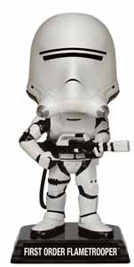 STAR WARS EPISODE VII WACKY WOBBLER BOBBLE HEAD FIRST ORDER FLAMETROOPER