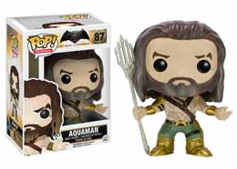 BATMAN VS SUPERMAN FIGURINE FUNKO POP! HEROES AQUAMAN