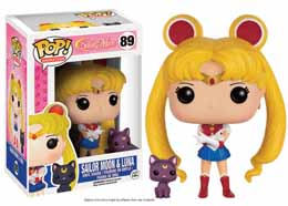 SAILOR MOON FUNKO POP SAILOR MOON & LUNA