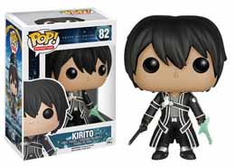 Photo du produit SWORD ART ONLINE FUNKO POP! ANIMATION KIRITO