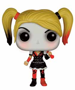 BATMAN ARKHAM KNIGHT POP! HEROES FIGURINE HARLEY QUINN