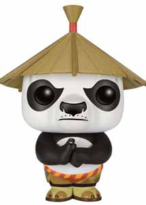 KUNG FU PANDA FIGURINE POP! PO IN HAT