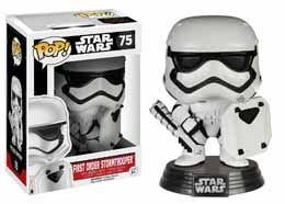 STAR WARS EPISODE VII POP! FIRST ORDER STORMTROOPER WITH SHIELD