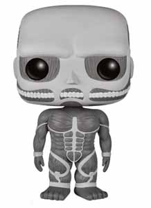 ATTACK ON TITAN FUNKO POP! COLOSSAL TITAN BLACK & WHITE VERSION