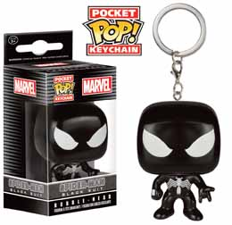 MARVEL PORTE CLE POCKET POP BLACK SUIT SPIDER MAN