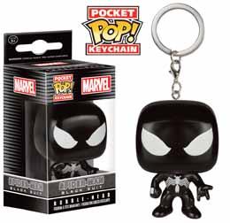 MARVEL PORTE CLE POCKET POP BLACK SUIT SPIDER MAN