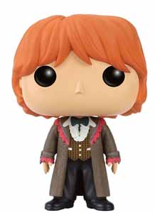FUNKO POP HARRY POTTER RON YULE BALL