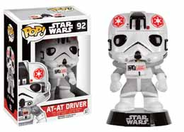 STAR WARS POP! VINYL BOBBLE HEAD AT-AT DRIVER LIMITED EDITION