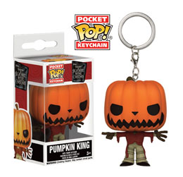 Photo du produit L´ETRANGE NOEL DE MR. JACK PORTE-CLES POCKET POP! VINYL PUMPKIN KING