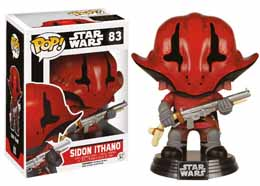 STAR WARS EPISODE VII FUNKO POP! BOBBLE HEAD SIDON ITHANO