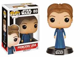 STAR WARS EPISODE VII FUNKO POP! BOBBLE HEAD PRINCESS LEIA