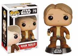 STAR WARS EPISODE VII FUNKO POP! BOBBLE HEAD HAN SOLO