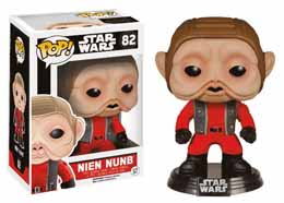 STAR WARS EPISODE VII FUNKO POP! BOBBLE HEAD NIEN NUNB