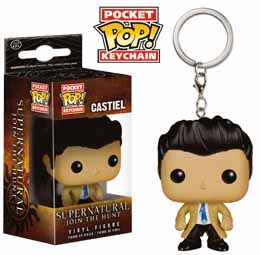 PORTE-CLÉS POCKET POP! SUPERNATURAL CASTIEL