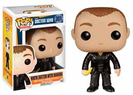 DOCTOR WHO POP! TELEVISION VINYL FIGURINE 9TH DOCTOR WITH BANANA