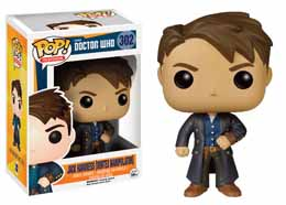 DOCTOR WHO POP! TELEVISION VINYL FIGURINE JACK HARKNESS WITH VORTEX MANIPULATOR