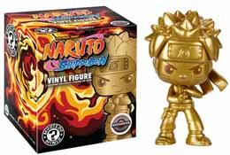 NARUTO SHIPPUDEN MYSTERY MINI FIGURINE GOLDEN NARUTO