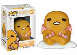 GUDETAMA, THE LAZY EGG FUNKO POP! GUDETAMA WITH BACON