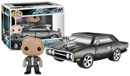 FAST AND FURIOUS FUNKO POP! VEHICULE AVEC FIGURINE 1970 DODGE CHARGER & DOM