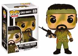 FIGURINE FUNKO POP! CALL OF DUTY GAMES VINYL MSGT FRANK WOODS