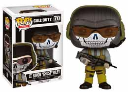 FIGURINE FUNKO POP! CALL OF DUTY GAMES VINYL LT SIMON GHOST RILEY