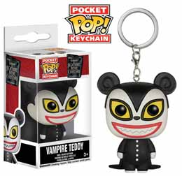 L´ETRANGE NOEL DE MR. JACK PORTE-CLES POCKET POP VAMPIRE TEDDY