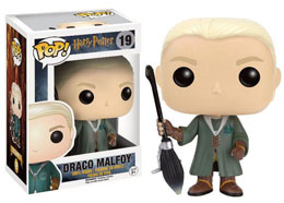 HARRY POTTER FUNKO POP! QUIDDITCH DRACO MALFOY EXCLU