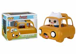 ADVENTURE TIME FUNKO POP! RIDES VINYL VEHICULE AVEC FIGURINE JAKE CAR & FINN