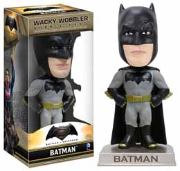 BATMAN V SUPERMAN WACKY WOBBLER BOBBLE HEAD BATMAN